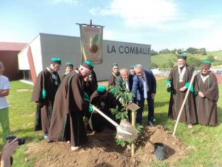 Inauguration La Comballe