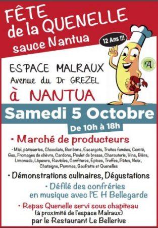 Fête de la Quenelle sauce Nantua