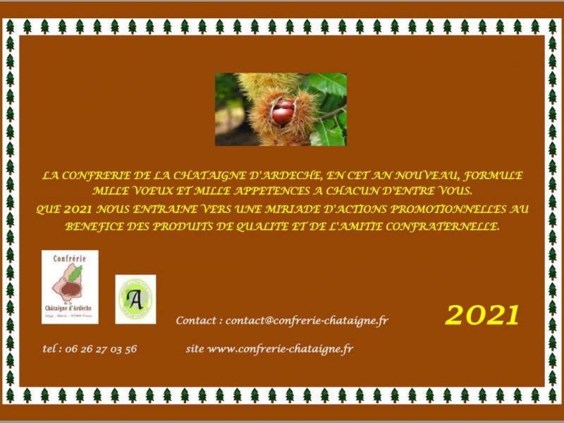 Bonnes Fêtes et Meilleurs Vœux 2021